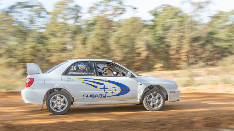 RedBalloon WRX Subaru Rally 6 Lap Drive and 2 Rally Drive Hot Laps- VIC