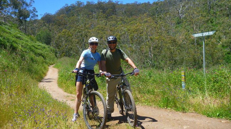 RedBalloon Mount Lofty Descent by Mountain Bike