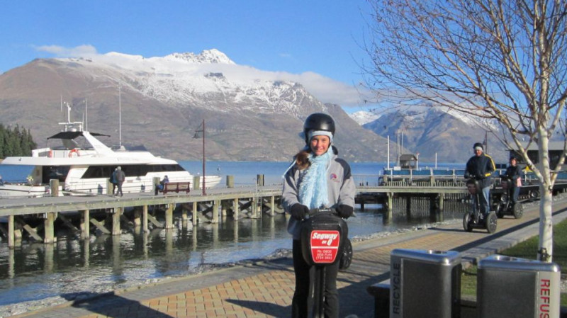 RedBalloon Segway Tour of Queenstown Bay - 1 Hour