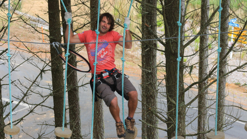 RedBalloon Forest High Ropes and Ziplining Adventure - Christchurch