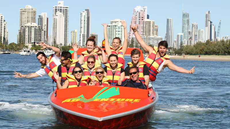 RedBalloon Jet Boating and Parasailing Adventure - For 2