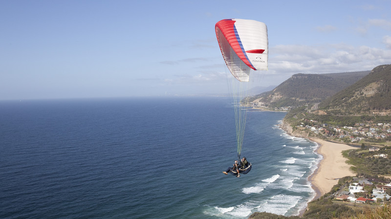 RedBalloon Tandem Paragliding Coastal Flight