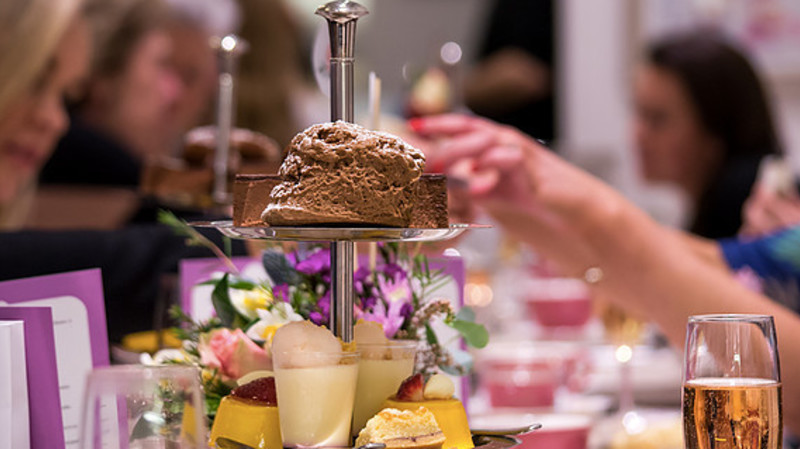 RedBalloon High Tea in Sydney City With Sparkling Wine - For 2