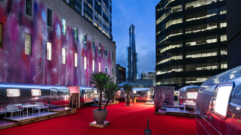RedBalloon 2 Night Urban Airstream Stay in Melbourne CBD - Midweek