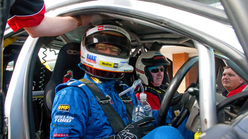 RedBalloon V8 Race Car Driving Experience  - 6 Laps - WA