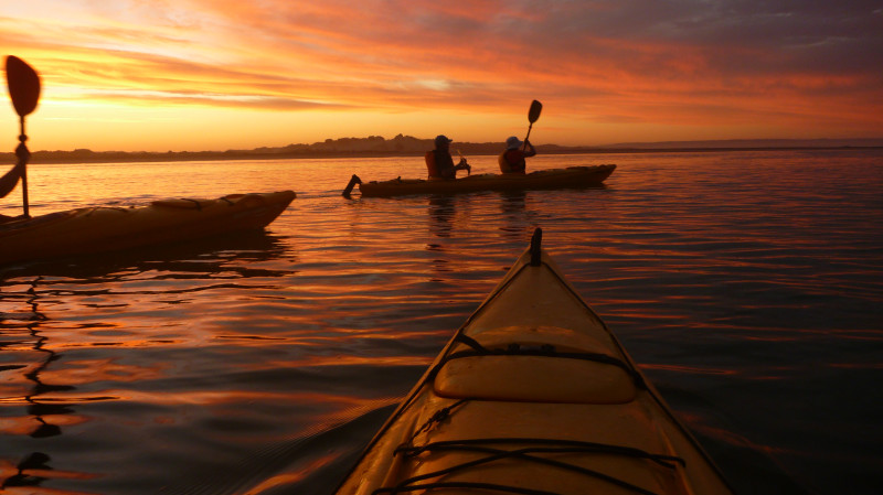 RedBalloon Sunset Kayaking Tour with Picnic - 3 Hours