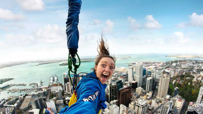 RedBalloon Auckland Sky Tower SkyJump and SkyWalk Combo