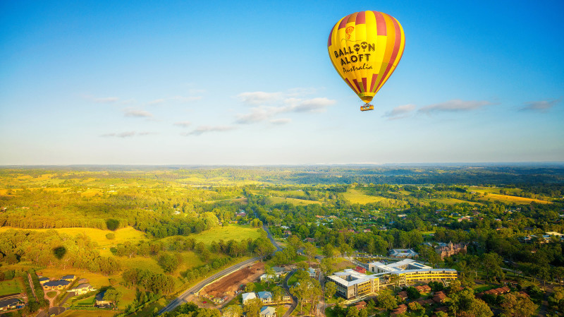 RedBalloon Hot Air Ballooning Over Sydney Macarthur Region - For 2