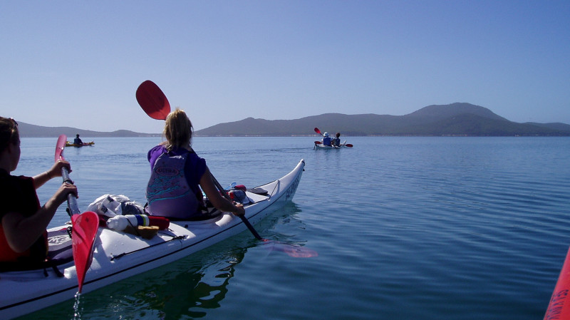 RedBalloon Guided Sea Kayak Tour to Wilsons Promontory - 4 Days
