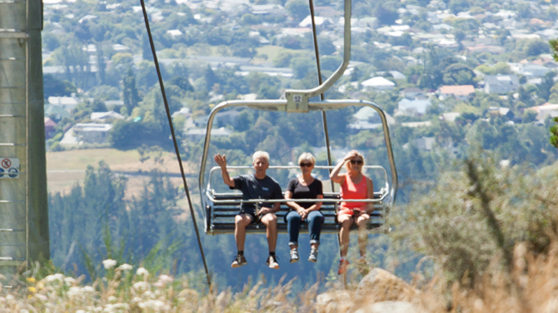 RedBalloon Port Hills Sightseeing Chair Lift Day Pass