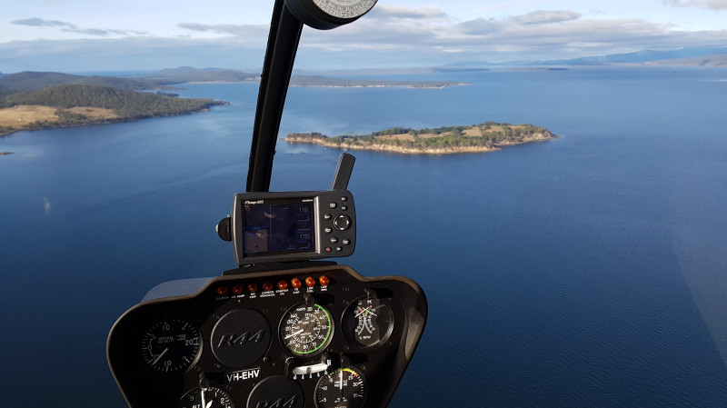 RedBalloon Scenic Helicopter Flight over Hobart - 20 Minutes - For 2