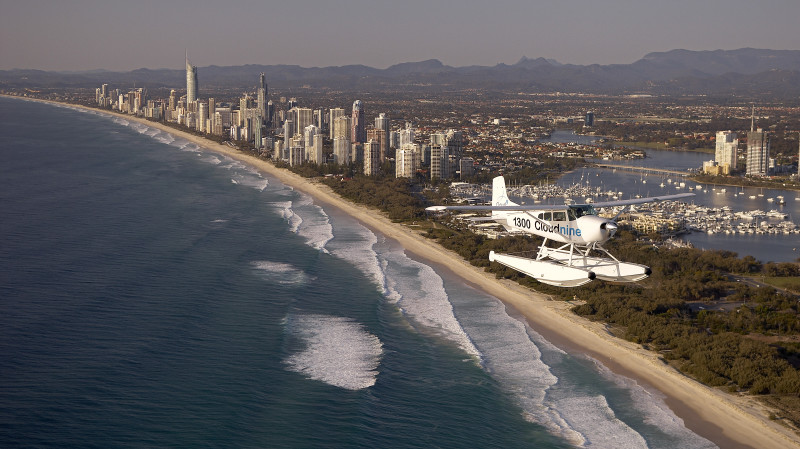 RedBalloon Scenic Seaplane Flight Over the Gold Coast  - 30 Minutes