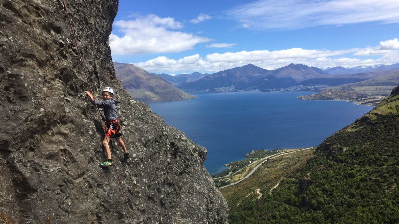 RedBalloon Queenstown Family Hike and Climb Combo