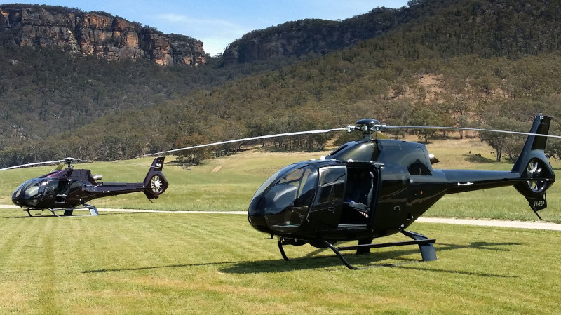 RedBalloon Helicopter to Blue Mountains with Buffet Lunch