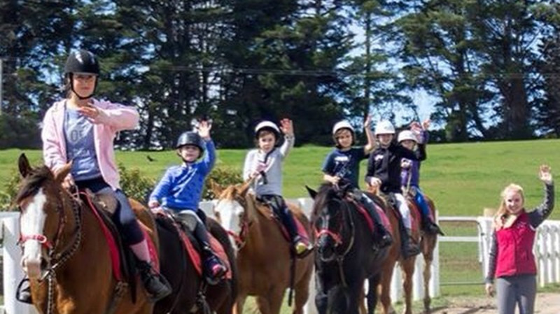 RedBalloon School Holiday Horse Riding Experience - 5 to 12 Years Old