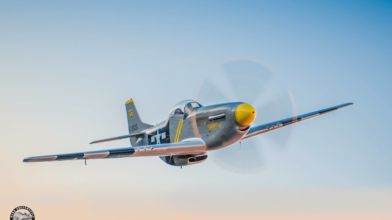 RedBalloon P-51D Mustang Air Combat Mission