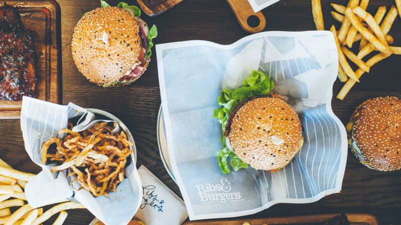 RedBalloon Burger Bar Meal To Share - For 2 - Perth