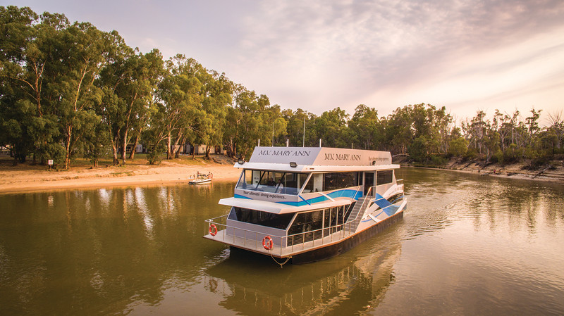 RedBalloon Dinner Cruise on the Murray River - For 2