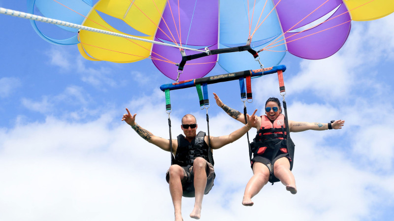 RedBalloon Parasail and FlyBoard Experience - For 2
