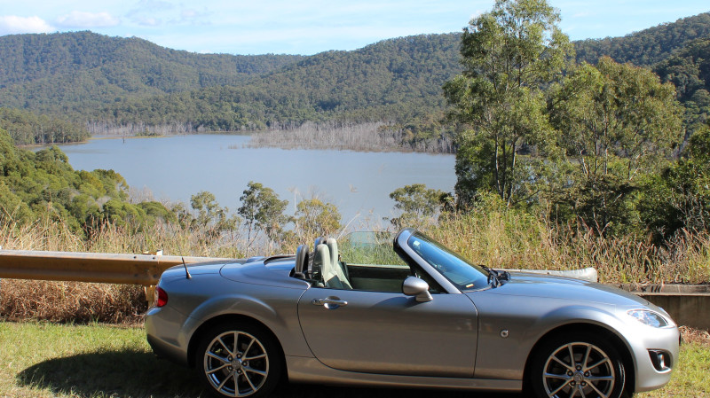 RedBalloon 1 Day Mazda MX5 NC Car Hire - Gold Coast - For 2