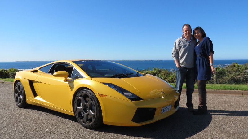 Sports Car Luxury Car Hire Australia RedBalloon - Sports cars to hire for prom