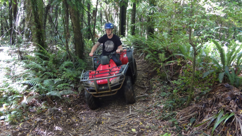RedBalloon Quad Bike Adventure - 2 Hours - For 2