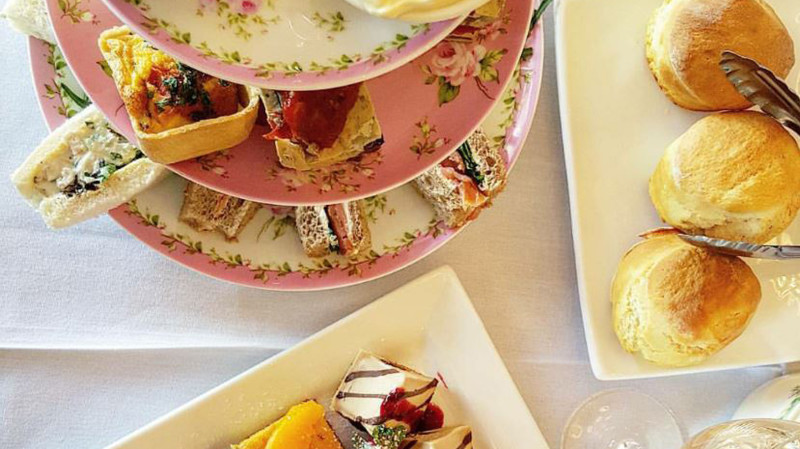 RedBalloon Country High Tea with Sparkling Wine - Saturday - For 2