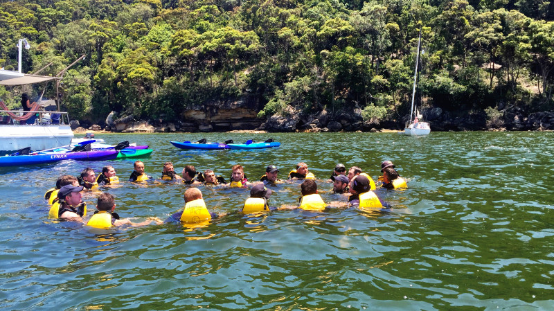 RedBalloon Team Bonding Kayaking and Personal Training Session