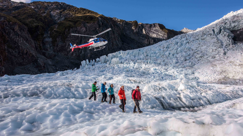 RedBalloon Helicopter Flight and Hike on Franz Josef Glacier - 3 Hours