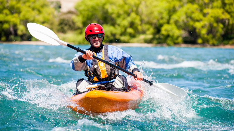 RedBalloon White Water Kayaking on the Clutha River