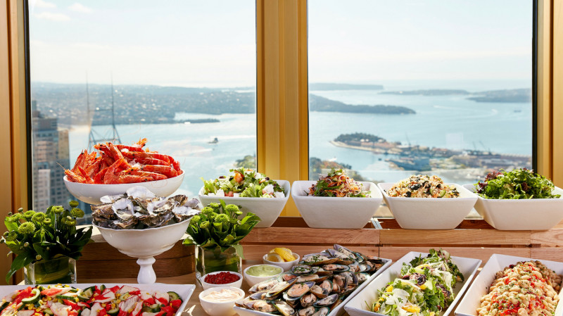 RedBalloon Sydney Tower Revolving Restaurant Buffet - Weekend - For 2
