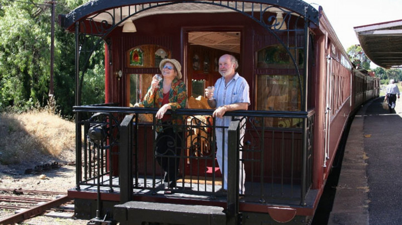 RedBalloon Steam Train and Overnight Stay - For 2