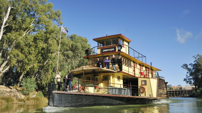 RedBalloon Paddlesteamer Lunch Cruise Along The Murray River
