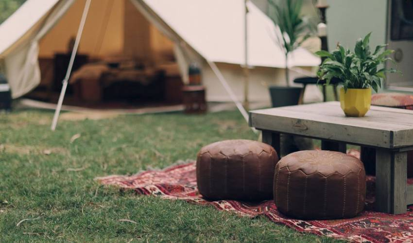 Romantic glamping on the Gold Coast