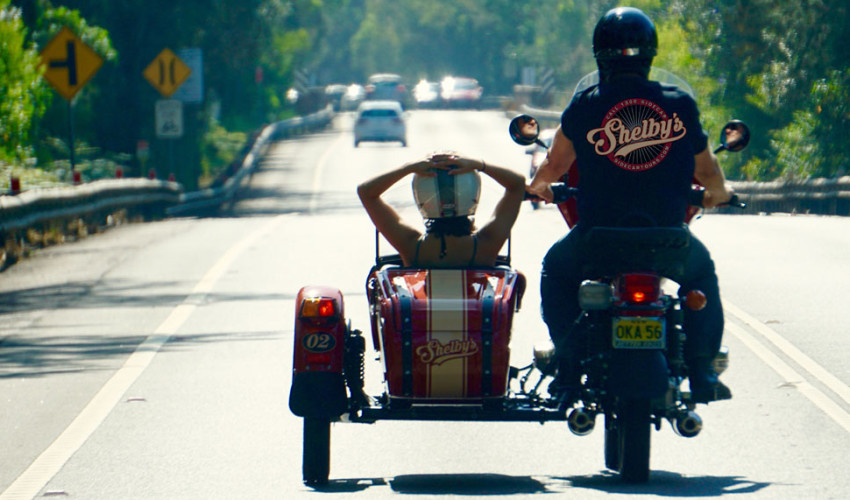 Shelby's Sidecar Tours Sydney