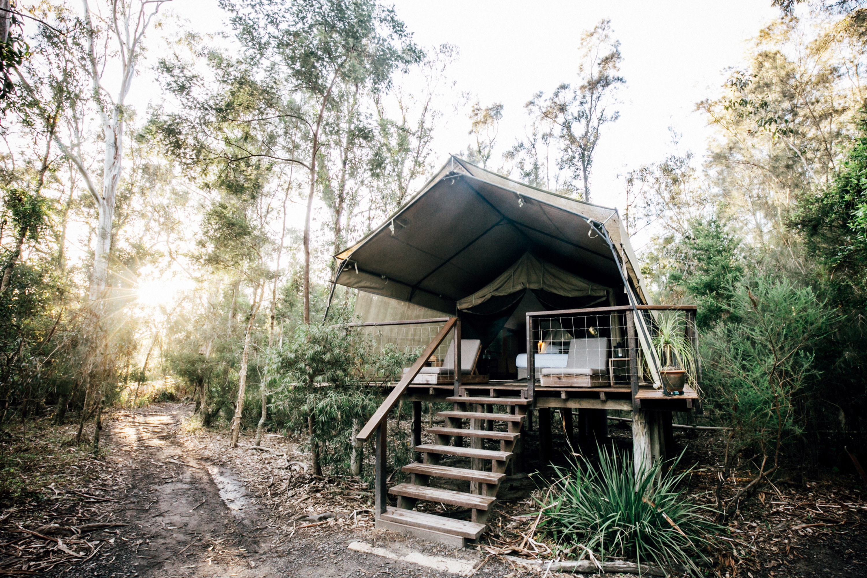 Your guide to glamping across Australia