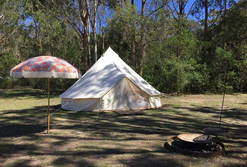 Glamping Shoalhaven