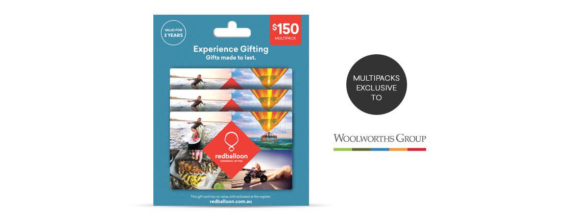 Australia RedBalloon Gift Card Multipack