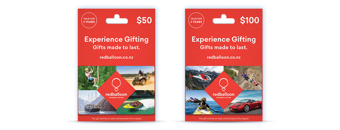NZ RedBalloon Gift Cards