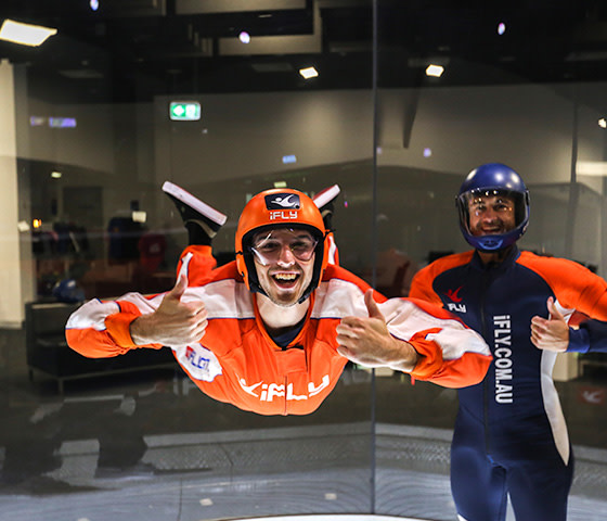 Indoor skydive Sydney
