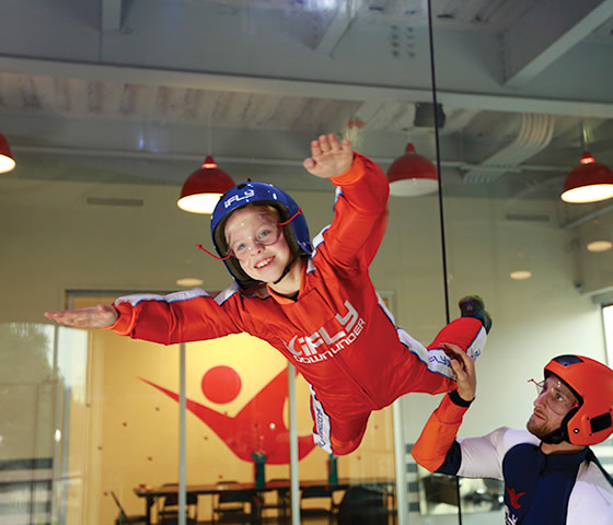 Indoor skydive Perth