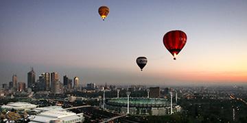 hot air balloon Melbourne
