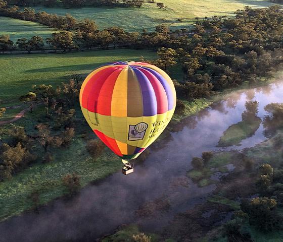hot air ballooning Perth