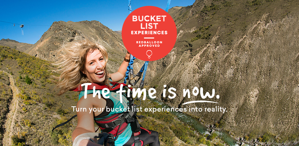Bucket List experiences