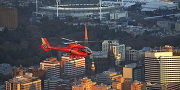 helicopter flights melbourne