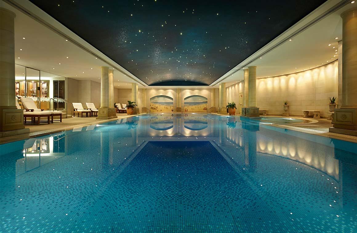 Pool at the Langham Sydney