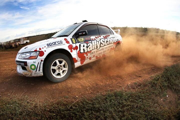 rally driving