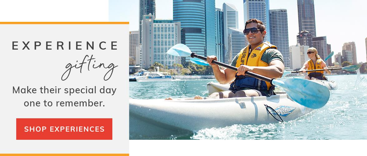 Kayaking Experience gifting