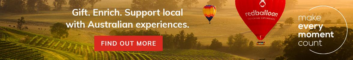 Explore Australia with RedBalloon