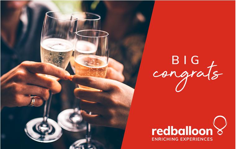 Big congrats